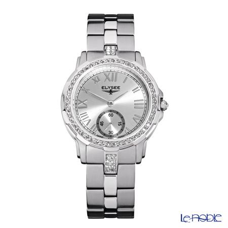 Elysee Melissa - Ladies Watch Quartz, Swarovski gems, Stainless steel case & band 22003S