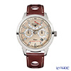 Elysee Taffy 1 - Men's Watch Automatic, Multifunction, Power reserve, leather strap (race driver design) 17010