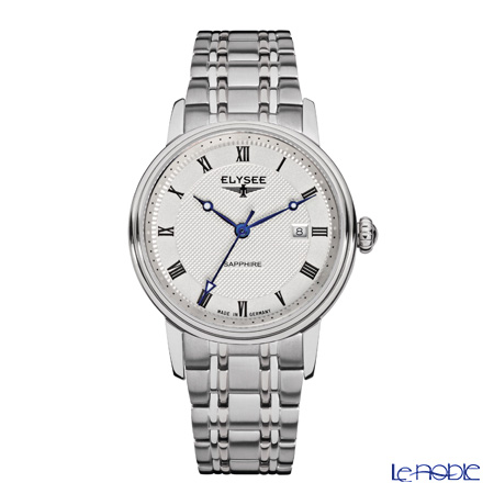 Elysee Monumentum Lady - Ladies Watch Quartz, Date function, Stainless steel case & band 77008