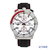 Elysee Rally Timer 1 - Men's Watch Quartz, Stop watch, Turnable bezel, Leather strap 80516