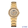 Elysee Nora - Ladies Watch Quartz, 52 Swarovski crystals, Gold plated case & band, 33046