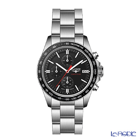 Elysee Start up - Men's Watch Quartz, Chronograph, 10 ATM, Stainless steel band & case 18011