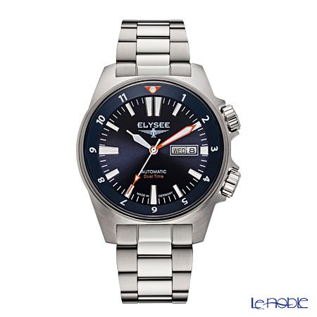 エリーゼ(ELYSEE) ドイツ製腕時計 男性用エグゼクティブ デュアルタイマー 87002