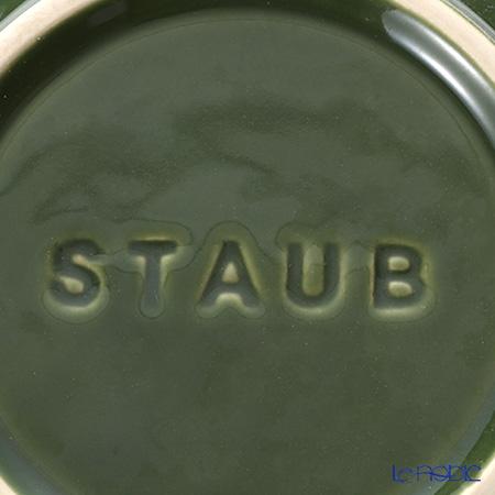 Staub ( staub  Bowl (made of ceramic) 17cm/1.2L Basil Green