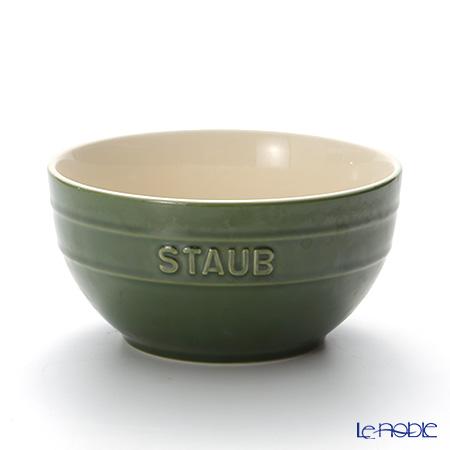 ストウブ(staub) ボウル(セラミック製) 17cm/1.2L バジルグリーン