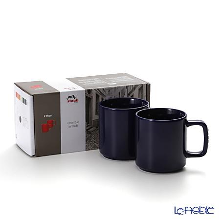 Staub ( staub  mug (made of ceramic) 6.8cm/0.2l Grand blue pair