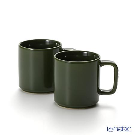 ストウブ(staub) マグカップ(セラミック製) 7.8cm/0.2L バジルグリーン ペア