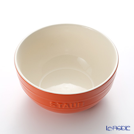 ストウブ(staub) ボウル(セラミック製)17cm/1.2L オレンジ