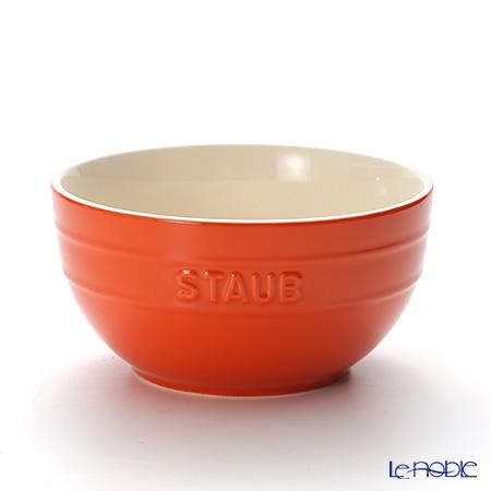 ストウブ(staub) ボウル(セラミック製) 17cm/1.2L オレンジ