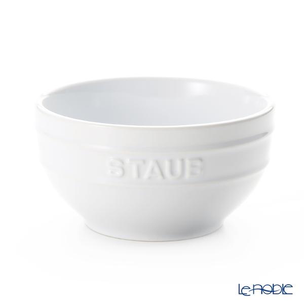 ストウブ(staub) ボウル(セラミック製) 14cm ホワイト