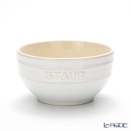 ストウブ(staub) ボウル(セラミック製) 14cm ビンテージカラー アイボリー