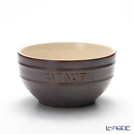 ストウブ(staub) ボウル(セラミック製) 14cm ビンテージカラー アンティークグレー