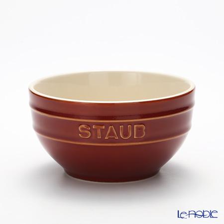 Staub (staub) Bowl (ceramic) It's vintage color copper 14 cm