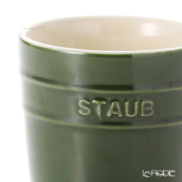 Staub (staub) mug (ceramic) 350 ml Basil Green