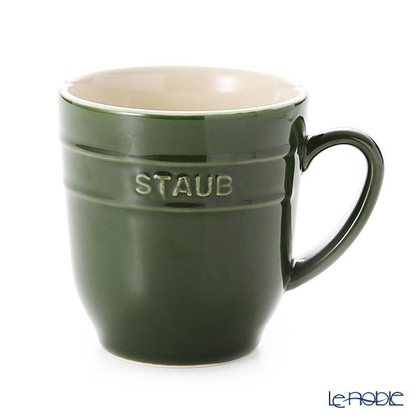 ストウブ(staub) マグカップ(セラミック製) 350ml バジルグリーン