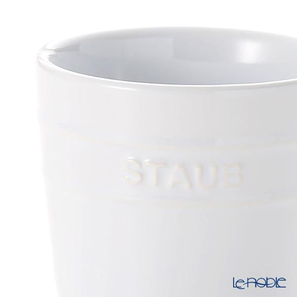 ストウブ(staub) マグカップ(セラミック製)350ml ホワイト