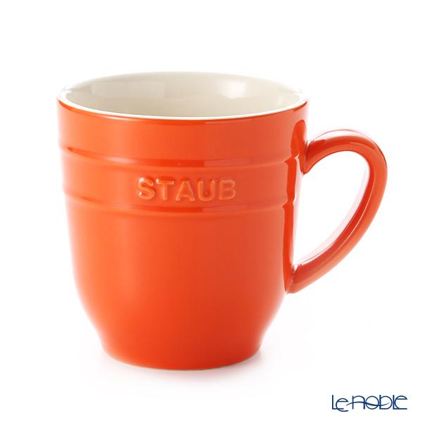 ストウブ(staub) マグカップ(セラミック製) 350ml オレンジ