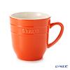 ストウブ(staub) マグカップ(セラミック製)350ml オレンジ