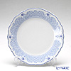 Hutschenreuther 'Baronesse Estelle' Blue Mesh Plate 21cm