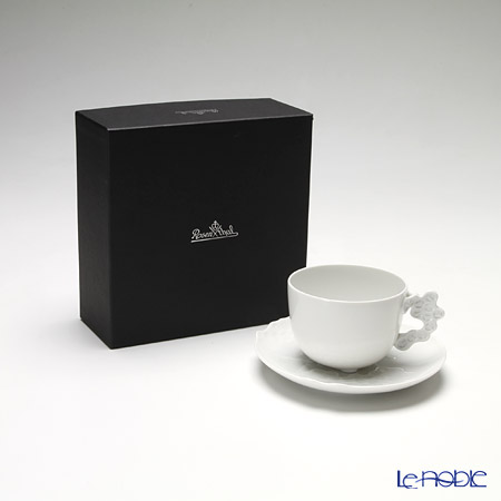 Rosenthal 'Studio-Line / Landscape' White Coffee Cup & Saucer 250ml