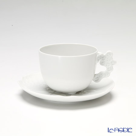 Rosenthal Studio-Line 'Landscape' White Coffee Cup & Saucer 250ml