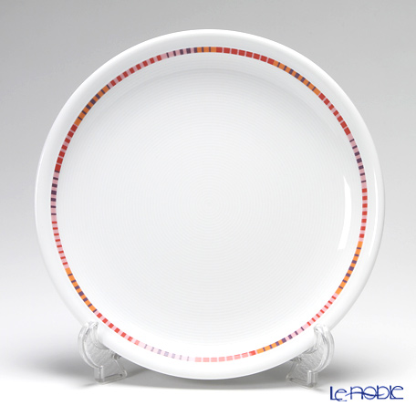 Rosenthal Thomas Trend Red Stripy Plate 26 cm