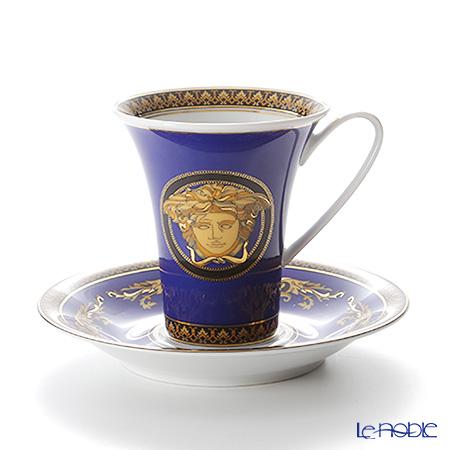 ローゼンタール ヴェルサーチ メデューサコーヒーカップ&ソーサー 180cc ブルー