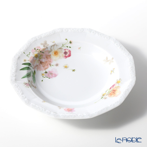 Rosenthal 'Maria Pink Rose' Deep Plate 21.5cm