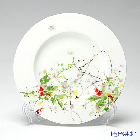 Rosenthal Brillance Fleurs Sauvages Rim plate 19 cm