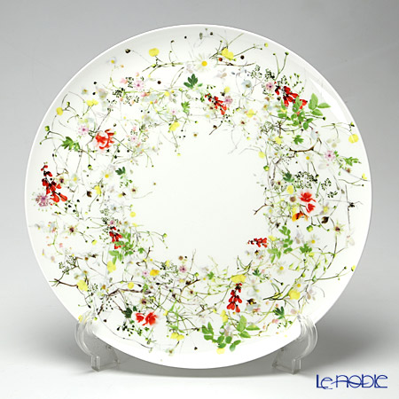 ローゼンタール Fleurs Sauvages 野花 サービスプレート 32cm