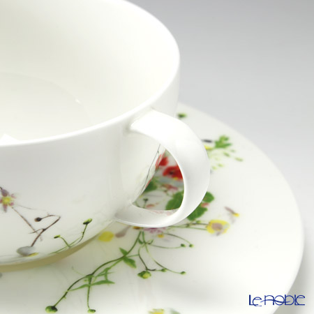 Rosenthal 'Brillance Fleurs - Sauvages' Soup Cup & Saucer 370ml