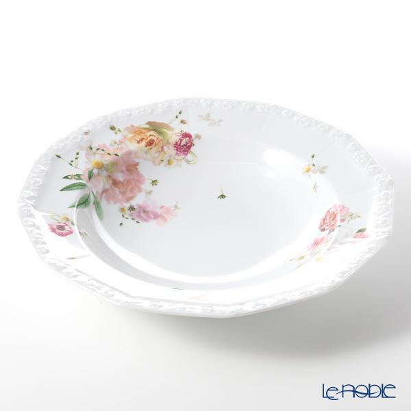 Rosenthal Maria Pink Rose Pasta Plate 28 cm