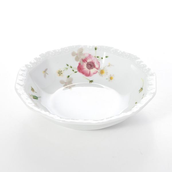 Rosenthal 'Maria Pink Rose' Fruit Dish / Bowl 15cm