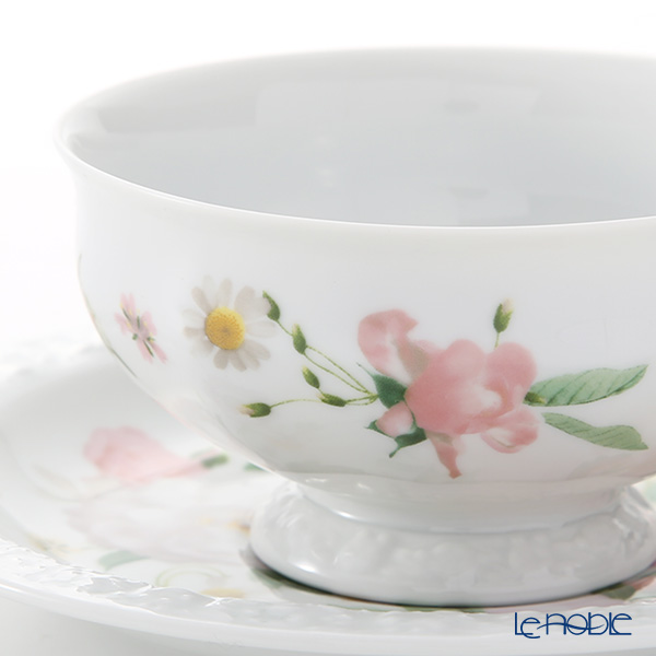 Rosenthal Maria Pink Rose Tea Cup & Saucer 200 ml