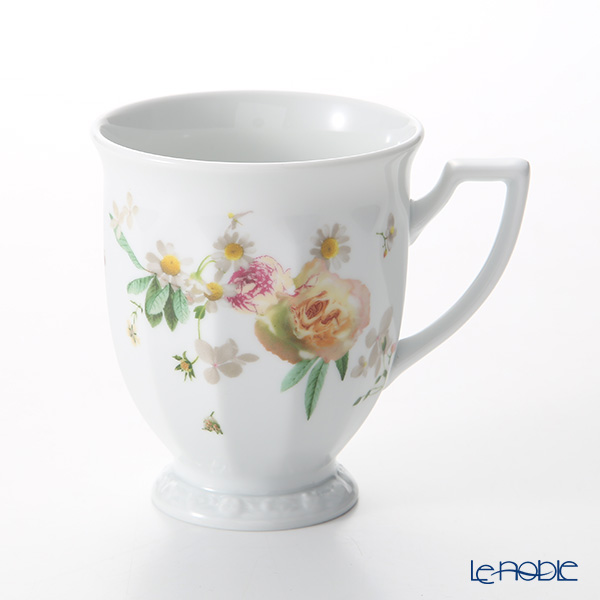 Rosenthal Maria Pink Rose Mug with Handle 300 ml