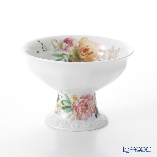 Rosenthal Maria Pink Rose Candy Bowl on Foot 12.5 cm