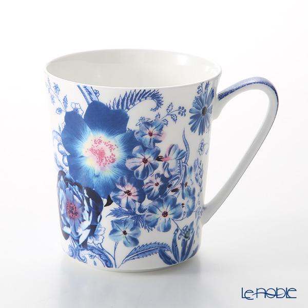 Rosenthal Belles Fleurs Mug with Handle 340 ml, blue