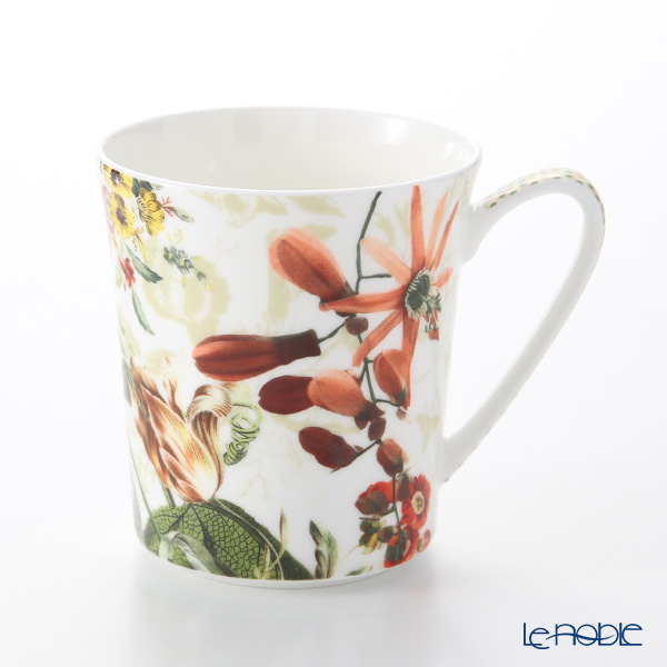 Rosenthal Belles Fleurs Mug with Handle 340 ml, olives