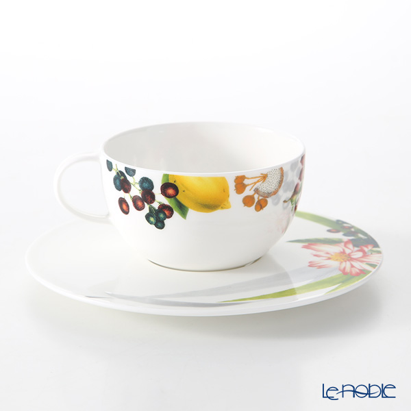 Rosenthal 'Brillance Les Fruits du Jardin' Tea Cup & Saucer 250ml