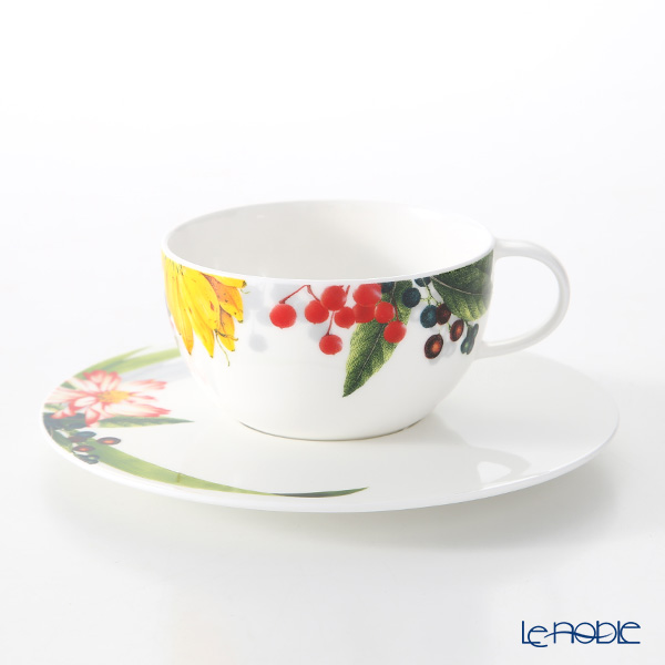 Rosenthal Brillance Les Fruits du Jardin Tea Cup & Saucer 250 ml