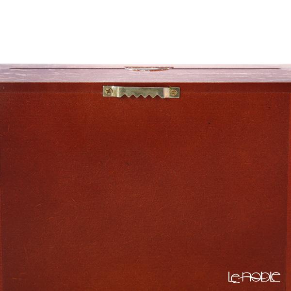 ロイター・ポーセリン コーヒー ショップ 001.700/4ミニチュア ピクチャーボックス M ガラス板付