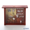 Reuters, porcelain coffee shop 001.700 / 4 Glass plate with a miniature picture box M