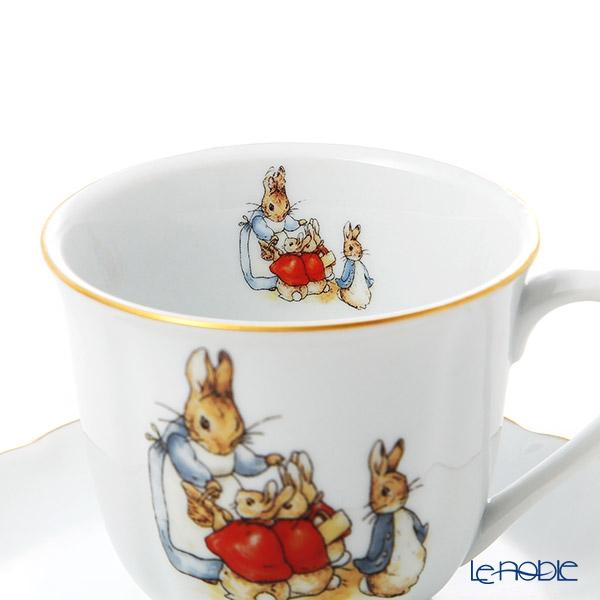 Reutter Porzellan 'Beatrix Potter Classic - Peter Rabbit Family' 060.068/0 Tea Cup & Saucer