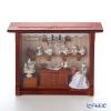 Reuters / porcelain tea shop 001.700 / 9 Glass plate with a miniature picture box M