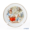 Reutter Porzellan 'Beatrix Potter - Peter Rabbit Family' 059.530/3 Plate 15cm with plate stand