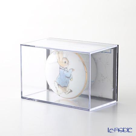 ロイター・ポーセリン ビアトリクスポター 54310/0 ラウンド ピーター トゥース&カール(乳歯&産毛)ケース