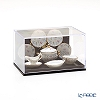 Reuters, porcelain gold Checker 001.378 / 6 Miniature dinner set