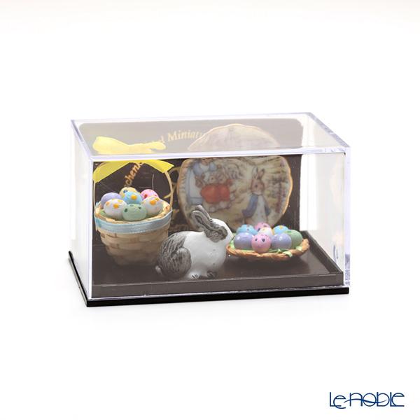 Reutter Porzellan 'Beatrix Potter - Peter Rabbit' 001.321/6  Miniature Easter Bunny set