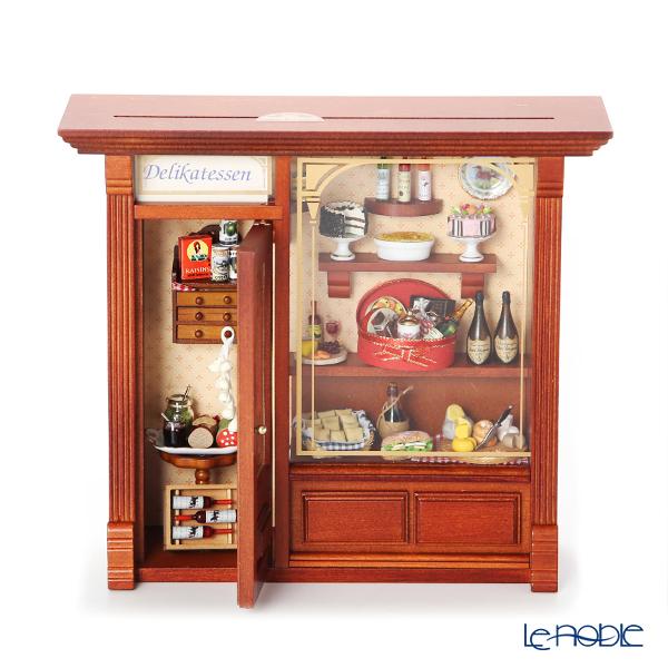 ロイター・ポーセリン グルメ フード ストア (食料品店) ミニチュア ピクチャーボックス L 001.797/0