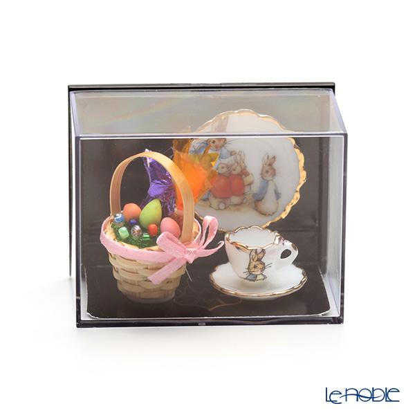 Reutter Porzellan 'Beatrix Potter - Peter Rabbit' 001.321/5 Miniature Easter Tea set